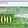 FXプライム by GMOの口座開設でキャッシュバック!キャンペーン情報