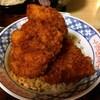 【前橋市】大村天狗うどんの店若宮町店でおそば屋さんのソースかつ丼を食べてきた