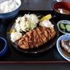 壁掛けの定食メニューを制覇する その3 @大網白里 まつや食堂 トンカツ&野菜炒め