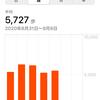 8/31~9/4 毎日5000歩ウォーキングまとめ 「いつ」、「どこを」、「何回で」歩く?