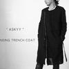 "New Arrival  / ""ASKYY"" BONDING TRENCH COAT"