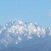 冬晴れの立山連峰