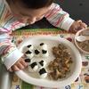 咳コンコン 1歳8ヵ月の離乳食★生後612日目