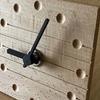 音楽を二次元で表現すること②/ヘ音記号の置時計/CNCを使った木工小物製作