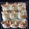 子ども喜ぶ ちぎりパン作り クマ型