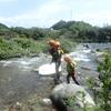 川の学校シャワークライミング下見