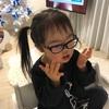 少しだけメガネ女子(3歳3ヶ月)