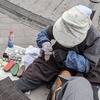 ★ 新橋駅前の「靴磨きのおばあちゃんにホッコリ」をもらう♫