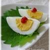 茹で卵のレシピアラカルト