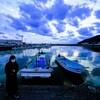 【photo2】 吉見漁港にて