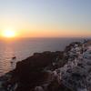 エーゲ海に沈む世界一の夕日
