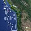 25日は満月🌕 / カナダ、台湾でマグニチュードの大きな地震