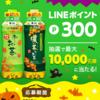 LINEポイント×伊藤園のお茶の後継キャンペーンは抽選300ポイント…ですが当たりますかねぇ
