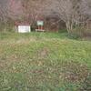 新冠郡新冠町 新冠会所跡と三基の墓石