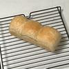 シンプル山型パン、豚丼とブロッコリーのスープとチンゲンサイ炒め