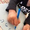 4歳児 年少さんの字の練習☆