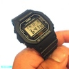 外仕事で腕時計をなくしたり壊してしまうからG-SHOCK『DW-5600E-1V(海外仕様)』を購入してみたらお値段も手ごろでめっちゃ幸せになった
