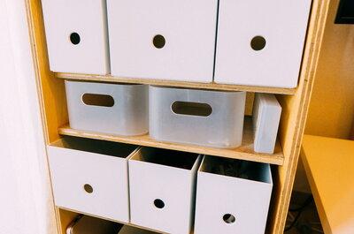 無印良品のファイルボックスで揃えた!まとまって見えるようになった気がする