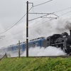 第673列車 「 白煙噴き上げるC57 1を狙う 2018秋 SL北びわこ号撮影 」