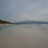 ボラカイ ホワイトビーチで見た夕日