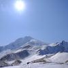 白銀の会津富士・金色の氷瀑「イエローフォール」を越えて @磐梯山