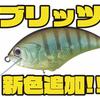 【O.S.P】スナッグレス性能向上と泳ぎのキレが良いシャロークランク「ブリッツ」に新色追加!
