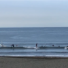 今朝も小波、ロング少し横へサーフ可能。波情報 湘南鵠沼08/21