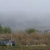 小屋の旅 040(霧と小屋)