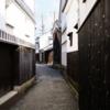 倉敷美観地区で歴史感あるエモい路地を散策するのが楽しかった件