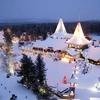 中国漠河の北極クリスマス村が開園