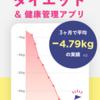 人気の無料スマホダイエットアプリ「FiNC ダイエットのための体重管理やカロリー計算アプリ」は体重管理やカロリー計算が手軽にできるからダイエットに最適なアプリ