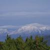 望岳台とシマエナガ