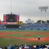 明治神宮野球場(神宮球場)で夏の高校野球を観戦。アクセス・入場料・売店などについてまとめてみた。東東京大会準々決勝  小山台ー高島の試合