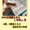 DWE正規購入1年8カ月の娘たちの英語力!取り組み!
