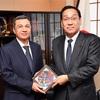 トルクメニスタンのグルバンマンメト・エリャソフ駐日大使が表敬訪問