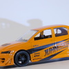 【モデルインプレッション】Jada Toys 1/64 JDM Tuners Mitsubishi Lancer Evolution Ⅶ(Orange)`02
