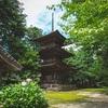 【新潟写真】乙宝寺の三重塔 2020年7月19日