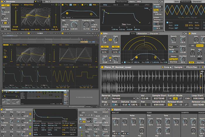 Live 10 Suite付属インストゥルメント&エフェクト 〜Ableton Live 10 Suiteの知らざれる真価(1)
