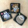 チョークアート*動物3種類のマグネット