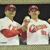 今日のカープグッズ:「鯉フォト2019 遠藤の初勝利と小園の写真」