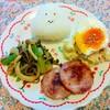 今日のごはん:6月16日のみはるごはんレシピ(ワンプレートランチ、明宝ハム、キノコたっぷり鍋)