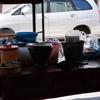 タイのローカル食堂で焼き飯、35バーツ(100円)って!パトゥンタニは安いなぁ。