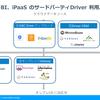 クラウドBI、iPaaS でのサードパーティDriver 利用パターン