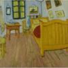 ゴッホ 「アルルの寝室」 平凡な絵の中にセックスが充満している
