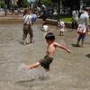 暑い!!ので横浜市港南区にある【水遊び場】を探す
