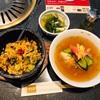 大阪・千里中央『食道園』の『冷麺・石焼ピビンバセット』