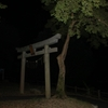 夜の源氏の滝について