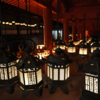 約3000基の燈籠に人々の願いの灯りが灯される【春日大社 中元万燈籠】(奈良市)