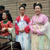 西安大唐西市博物館(その38:1階フロア_ 唐代宮廷茶宴体験イベント)