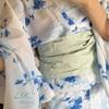 一目惚れ(*^^*)夏の着物を手に入れました♪